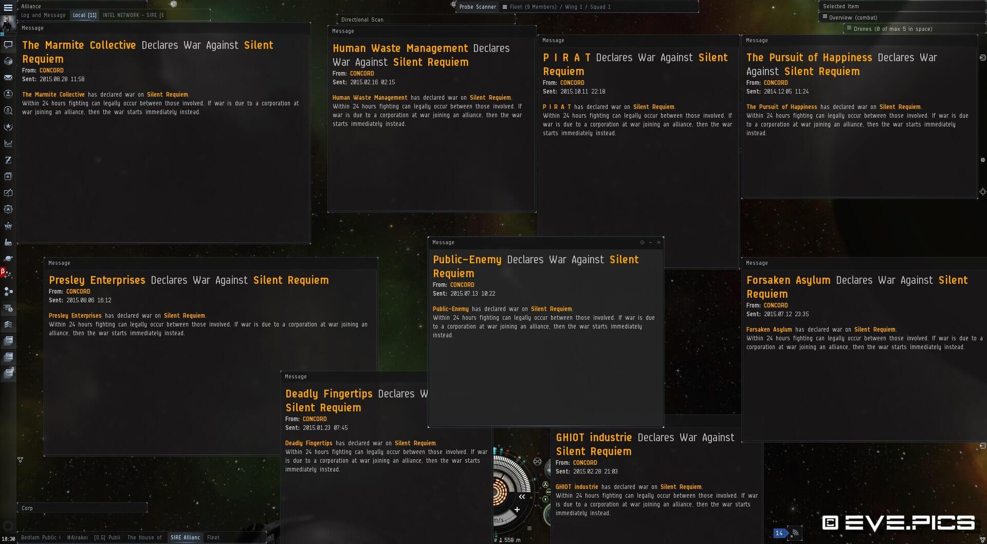EVE Online Wardecs