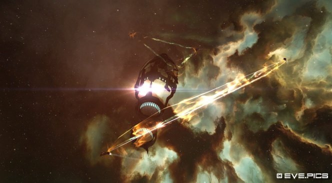 Gatecamping in EVE Online